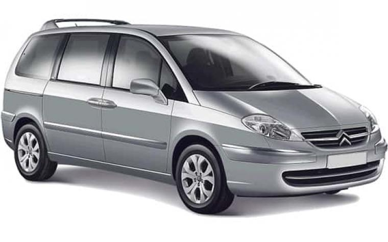 citroen c8 seven seats minivan for rent in sofia universal car rent. Black Bedroom Furniture Sets. Home Design Ideas