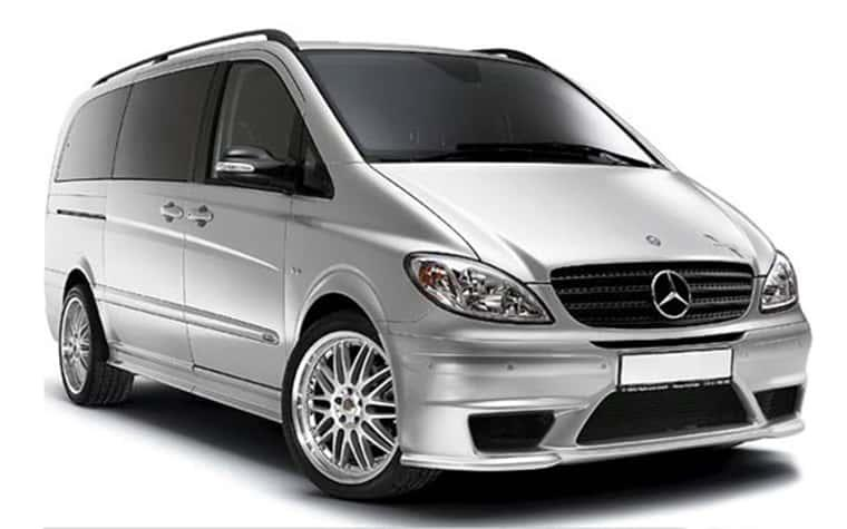 Mercedes Viano Ambiente 8 Seater Luxury Van Rental In Sofia