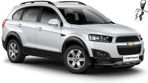 Chevrolet Captiva 7 seats SUV for rent in Sofia