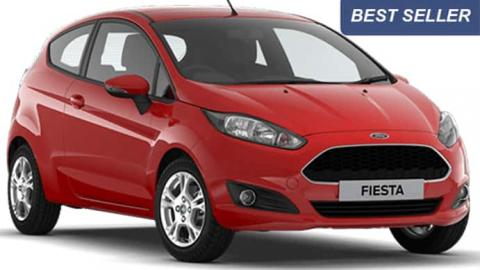Ford Fiesta 1.4 diesel rental in Sofia