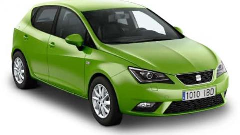 Seat Ibiza 2015 cheap car rent in Sofia