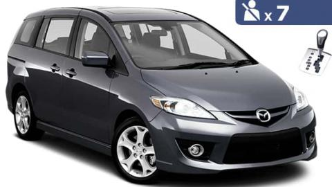 Mazda 5 automatic / 7 seater minivan for rent in Sofia