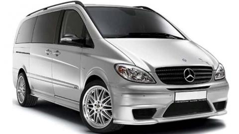 Mercedes Viano ambiente - 8 seater luxury van rental in Sofia