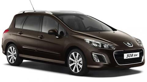 Peugeot 308 SW - rent a car in Sofia