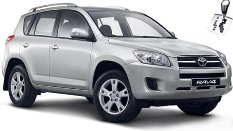 Toyota Rav 4 - automatic SUV for rent Sofia Airport