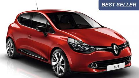 Rent a car Renault Clio 4 in Sofia