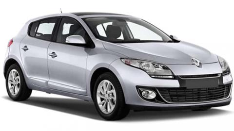 Renault Megane 1.5 dCi car rent Sofia