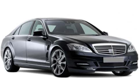 Mercedes S-class luxury car rental in Sofia