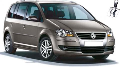 Volkswagen Touran - 7 seats, automatic for rent Sofia airport