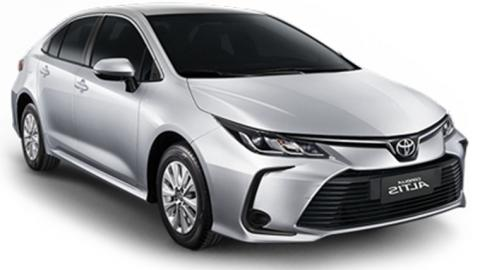 Toyota Corolla 2021 with automatic transmission