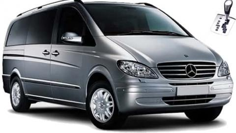 Mercedes Vito - 8 seats, automatic